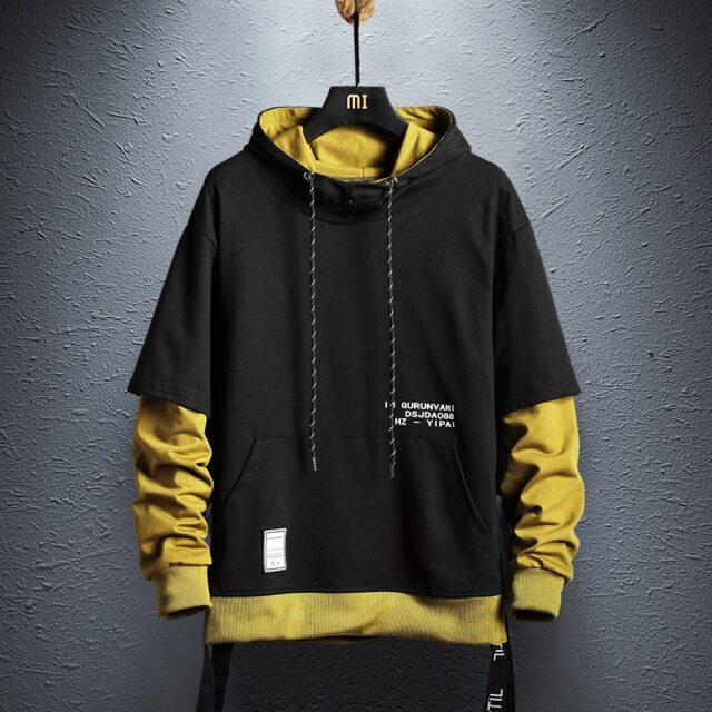 Sweatshirt Mens Hip Hop  cotton