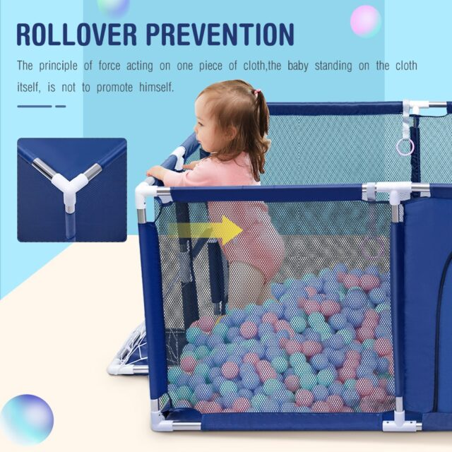Baby Playpen For Children Safety Fence , help your baby stand & walk