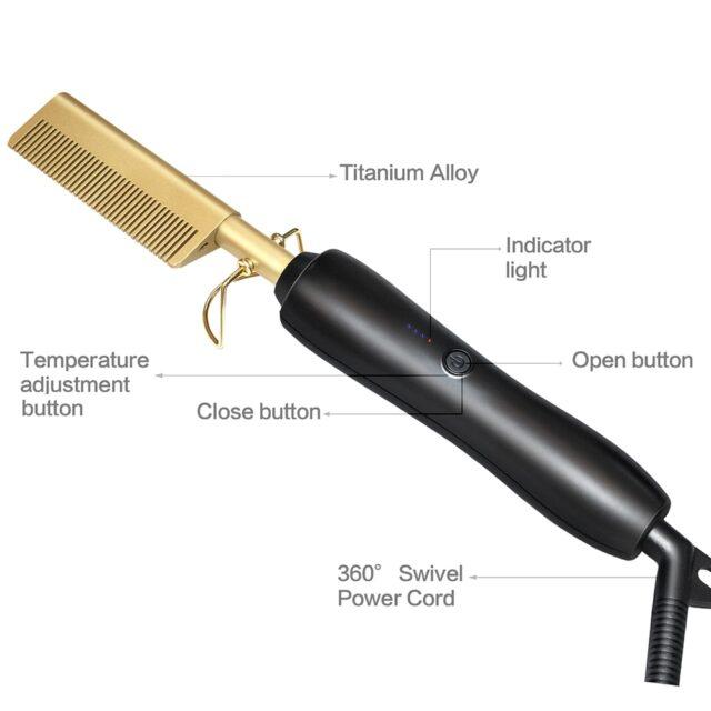 Iron Hair Comb
